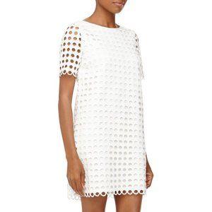 Catherine Malandrino Courtney  White Shift Dress
